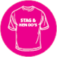 Stag and Hen T-shirts