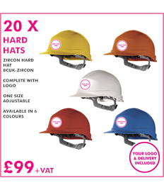 20 x Safety Hats