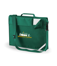 Whitehouse Common Primary Book bag with strap