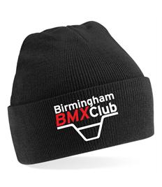 Birmingham BMX Club Adults Embroidered Beanie