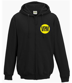 VPM Embroidered Zip Hoody
