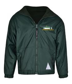 Whitehouse Common Primary Reversible fleece jacket