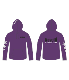 Novelli Purple Junior Hoodie