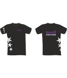Novelli Black Adult T-shirt