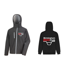 Birmingham BMX Club Adults Softshell Jacket
