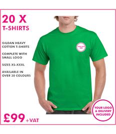 20 x Gildan T-Shirts