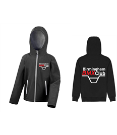 Birmingham BMX Club Kids Softshell Jacket
