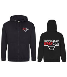 Birmingham BMX Club Zip Hoodie