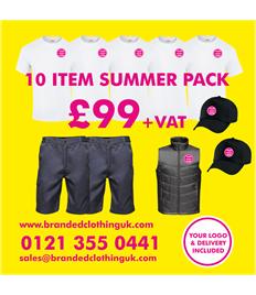 10 Item Summer Workwear Pack