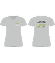 Barnardo's Charity Ladies Fit T-shirt